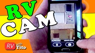 Download Use Old Smart Phone as an RV Security Camera Video