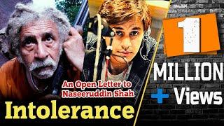 Download Intolerance | Open Letter to Naseeruddin Shah | RJ Raunac | New 2019 | Bauaa Video