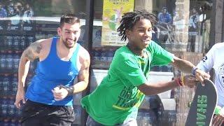 Download Winning Lottery Ticket Prank - Funny Public Hood Pranks Video