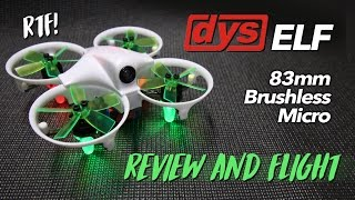 Download DYS ELF 83mm Brushless Micro - REVIEW & FLIGHT TEST Video
