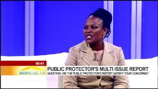 Download Busisiwe Mkhwebane on the released of her report on multiple cases Video