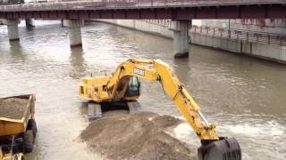 Download Dredging Sand Zumbro River Video