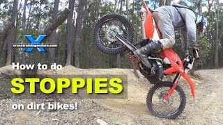 Download HOW TO DO STOPPIES LIKE GRAHAM JARVIS: Cross Training Enduro Skills Video