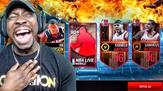 Download 1ST EDITION THROWBACK PACK OPENING & NEW 96 OVR ELITES! NBA Live Mobile 16 Gameplay Ep. 105 Video