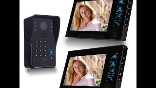 Download SIMBR Wired Video Doorbell with 2 Monitors Review and Set Up Tutorial | The Coolest Doorbell Video