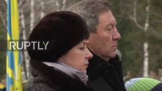 Download Russia: Monument erected to pilot killed in downing of Russian jet on 1yr anniversary Video