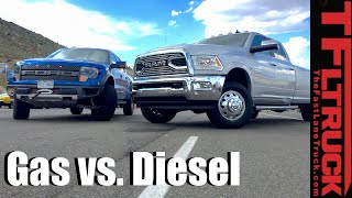 Download Top 5 Pros & Cons of Diesel vs Gasoline Pickup Trucks Video