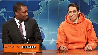 Download Weekend Update: Pete Davidson on Colin Kaepernick - SNL Video