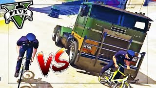 Download CRAZIEST GAMEMODE EVER!? BIKES VS TRUCKS! Video