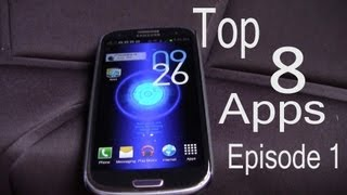 Download Top 8 Android Apps - Galaxy S3 - Episode 1 - mesentech Video