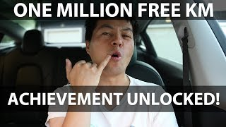 Download 1 million km free supercharging reached Video