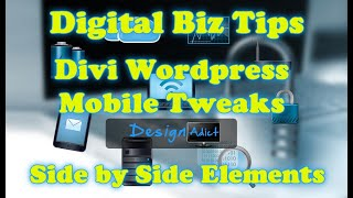 Download Divi Mobile Tweaks - Side by Side Blurb Colums on Mobile Video