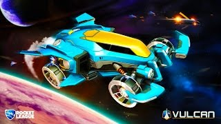 Download VULCAN NEW ROCKET LEAGUE CAR - CUSTOMIZING THE VULCAN ROCKET LEAGUE RUMBLE FUNNY MOMENT & FAILS Video