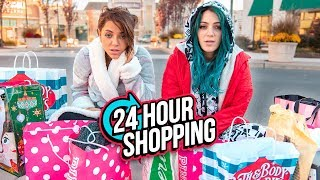 Download 24 HOUR Shopping Challenge! Niki and Gabi Video