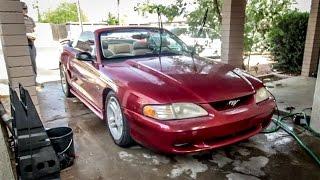 Download I Slammed My $1000 Mustang GT For Free - Budget Build Challenge Pt 3 Video
