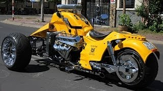 Download Boss Hoss Trike V8 502ci - Hot Rod Style 8228cc The biggest Engine ever Video
