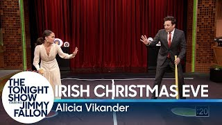 Download Alicia Vikander Teaches Jimmy a New Swedish Game Video