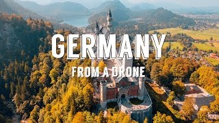 Download Stunning aerial drone footage over GERMANY + AUSTRIA - 4k Video