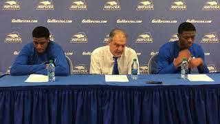 Download MBB: Hofstra Postgame Press Conference vs. Charleston (2/3/18) Video