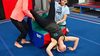 Download Teaching Our Sister Gymnastics! Video