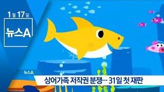 Download 상어가족 저작권 분쟁…31일 첫 재판   뉴스A Video