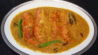 Download Chingri Maacher Malai Curry   Prawns in Coconut Milk   Bengali Home Cooking Video