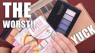 Download WORST MAKEUP PALETTES | Save Your Money !!! Video