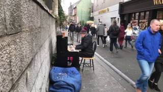 Download Paul Street, Cork City, Ireland. Piano Man and one of his great performance. Video