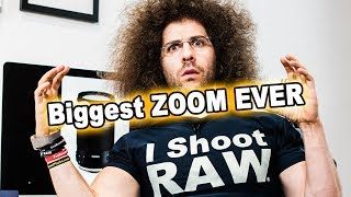 Download The BIGGEST ULTRA ZOOM TELEPHOTO LENS EVER for DSLR!! TAMRON 18-400mm Preview Video