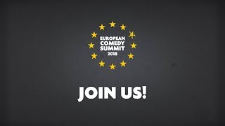 Download Join the European Comedy Summit 2018! Video