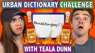 Download URBAN DICTIONARY HOT SAUCE CHALLENGE (ft. Teala Dunn) | Challenge Chalice Video