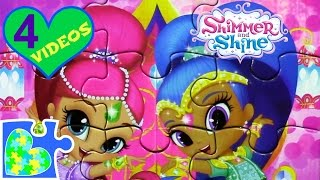Download 4 SHIMMER AND SHINE MOVIE GAME PUZZLES FOR KIDS! Rompecabezas de Shimmer and Shine. Video