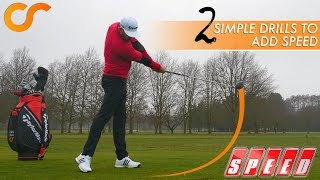 Download 2 SIMPLE DRILLS FOR MORE CLUB HEAD SPEED Video
