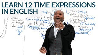 Download 12 Expressions of TIME in English Video