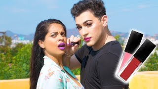 Download Lipstick That Changes the Way You Talk! (ft. Manny Mua) Video