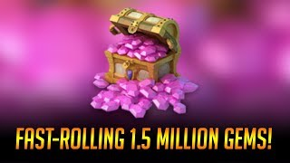 Download Fast-rolling 1,500,000 GEMS!!! Video