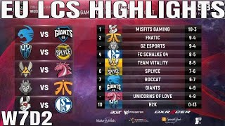Download EU LCS Highlights ALL GAMES Week 7 Day 2 Full Day Highlights Summer 2018 W7D2 Video