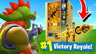 Download *NEW* LEGENDARY Vending Machine Gameplay in Fortnite: Battle Royale! Video