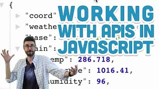 Download 10.5: Working with APIs in Javascript - p5.js Tutorial Video