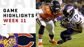 Download Vikings vs. Bears Week 11 Highlights | NFL 2018 Video