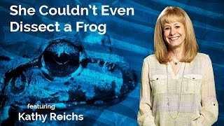 Download Kathy Reichs: She Couldn't Even Dissect a Frog Video