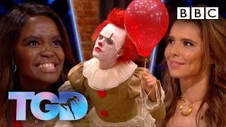 Download Insanely athletic dark clown is ″it″ for @todrickhall - The Greatest Dancer - BBC Video