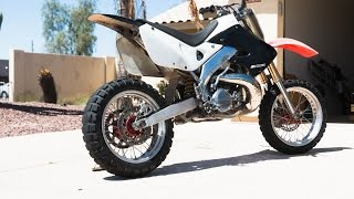 Download CR250 Street Build - Supermoto Conversion Ep1 Video