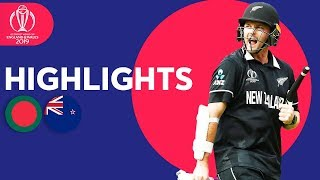 Download Down To Final 2 Wickets! | Bangladesh vs New Zealand - Match Highlights | ICC Cricket World Cup 2019 Video