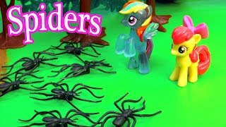Download MLP Airport - Spider Attack - My Little Pony Travel Part 16 Apple Bloom Video Series Video