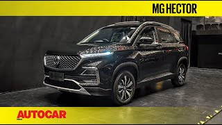 Download MG Hector   First Look & Walkaround   Autocar India Video