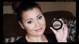 Download NEW NYX #NoFilter Finishing Powder Review Video