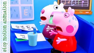 Download Peppa felt ill Peppa Pig toys Stop motion animation new episodes 2018 Video