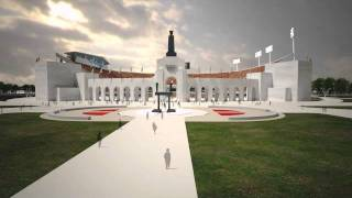 Download New LA Memorial Coliseum Flythrough Video