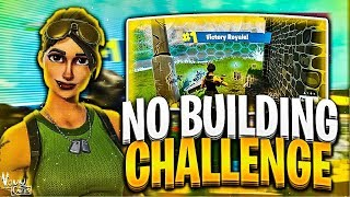 Download FORTNITE NO BUILDING CHALLENGE WITH 14 YEAR OLD! FORTNITE CHALLENGE GONE WRONG! FORTNITE REACTIONS!! Video